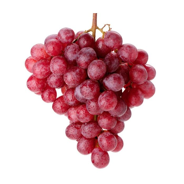 Red Grapes Bunch