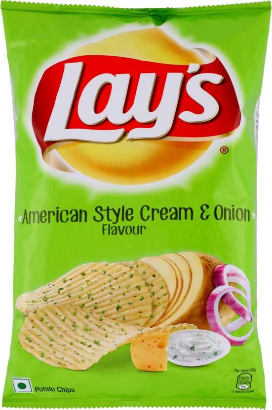 Lays American Style Cream & Onion 52g