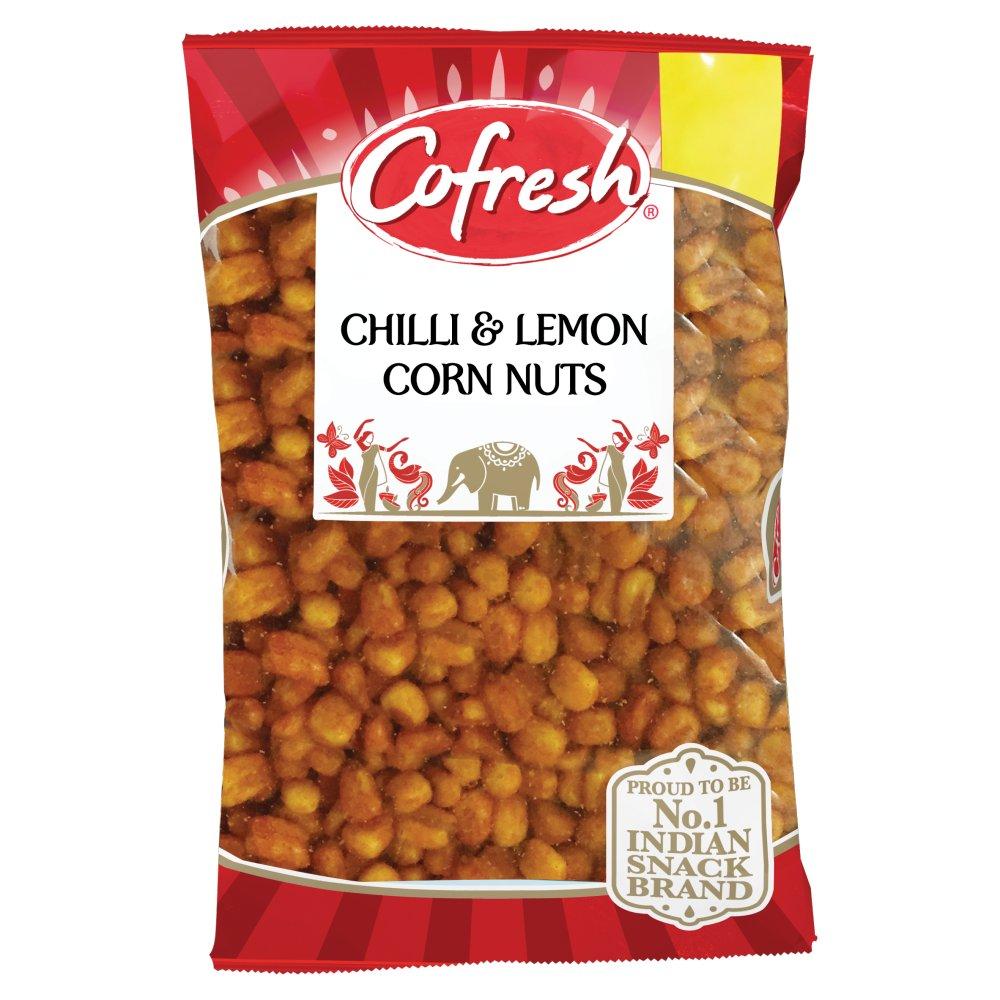 Cofresh Corn Nuts - Chilli & Lemon 350g