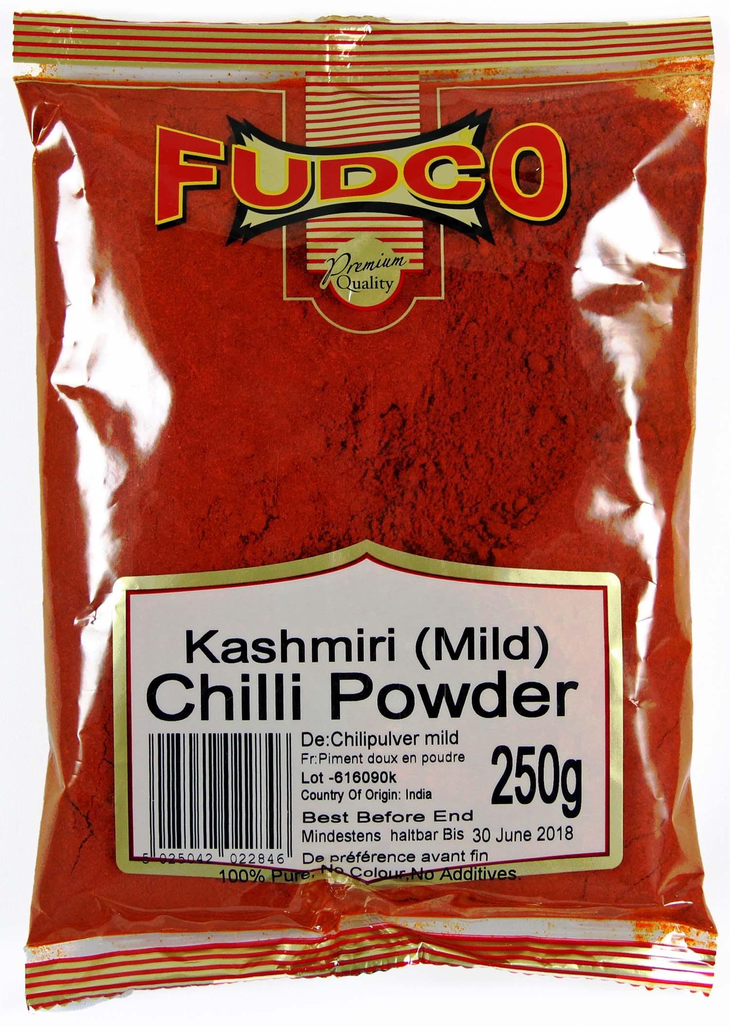 Fudco Chilli Powder (Kashmiri Mild) 250g