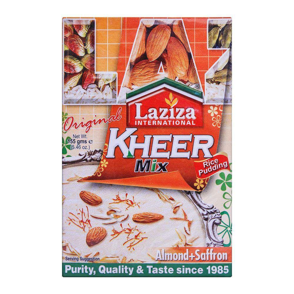 Laziza Kheer Mix Almond-Saffron 155g