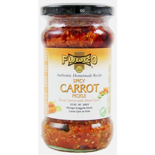 Fudco Spicy Carrot Pickle 283g
