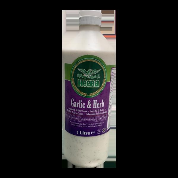 Heera Garlic & Herb Sauce 1L