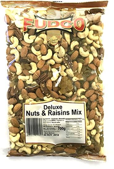 Fudco Deluxe Nuts & Raisins Mix 700g