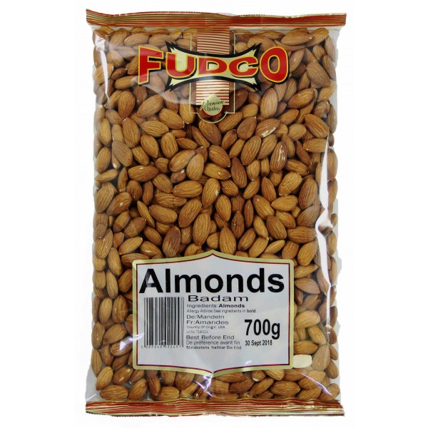 Fudco Premium Almonds 700g
