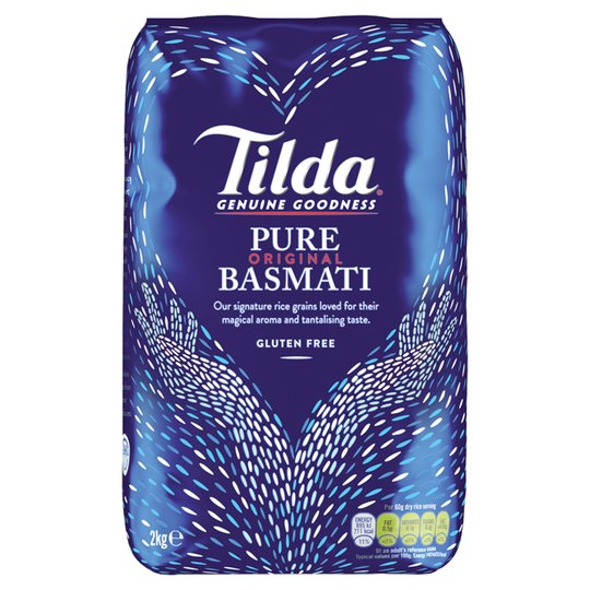 Tilda Basmati Rice 2kg