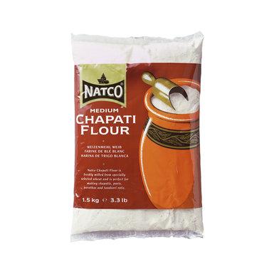 Natco Chappati Flour Medium 1.5kg