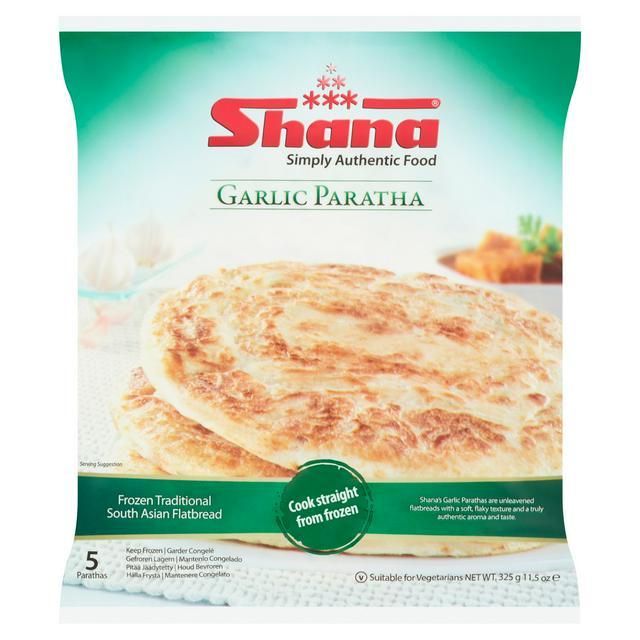 Shana Garlic Paratha 400g