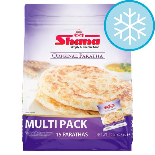 Shana Plain Paratha Family Pack 1.2kg