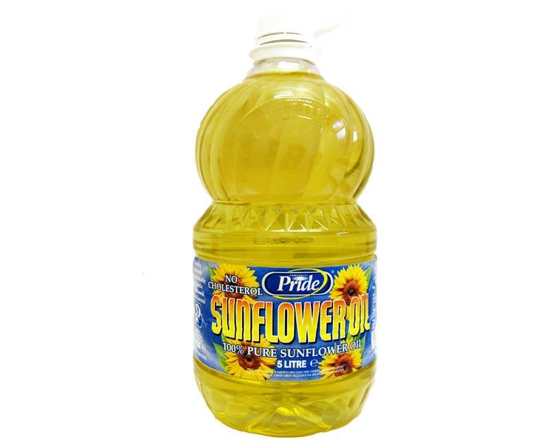 Pride Pure Sunflower Oil 5L
