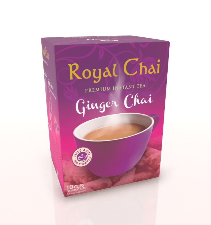 Royal Chai Ginger Sweetened 4x10's
