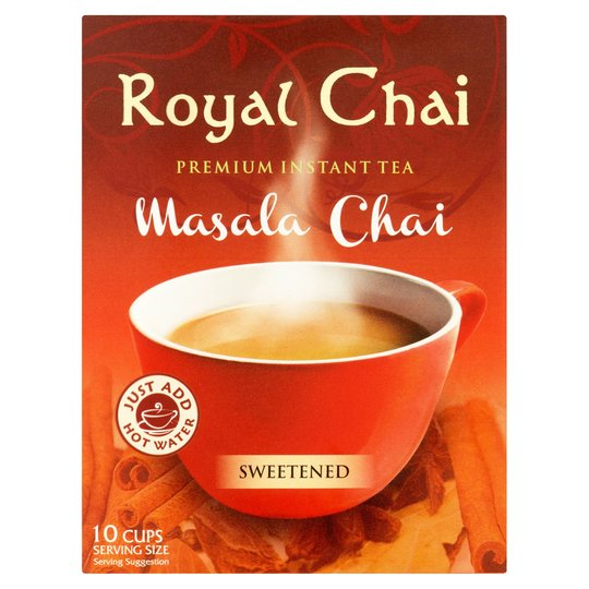 Royal Chai Masala Sweetened 220g - 10's