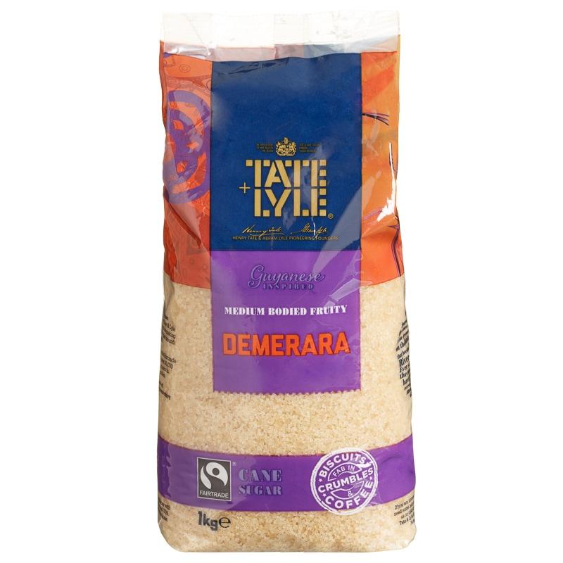 Tate & Lyle Demerara Brown Sugar 1KG