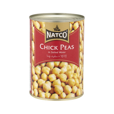 Natco Canned Chick Peas 12x800g