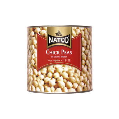 Natco Canned Chick Peas 2.5kg
