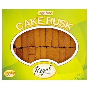 Regal Egg Free Cake Rusk Pack of 28