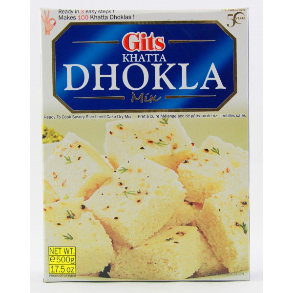 Gits Khatta Dhokla Mix 500g