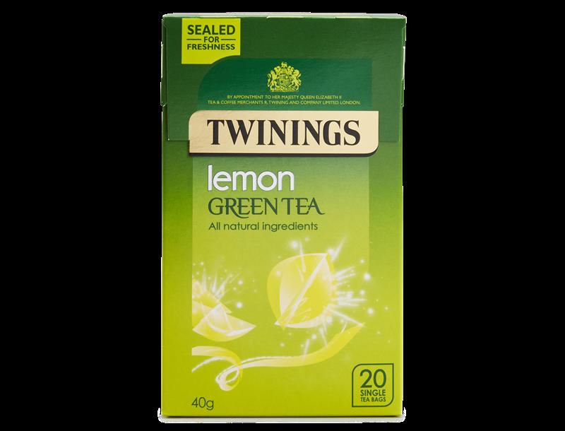 Twinings Pure Green Tea Lemon 20s