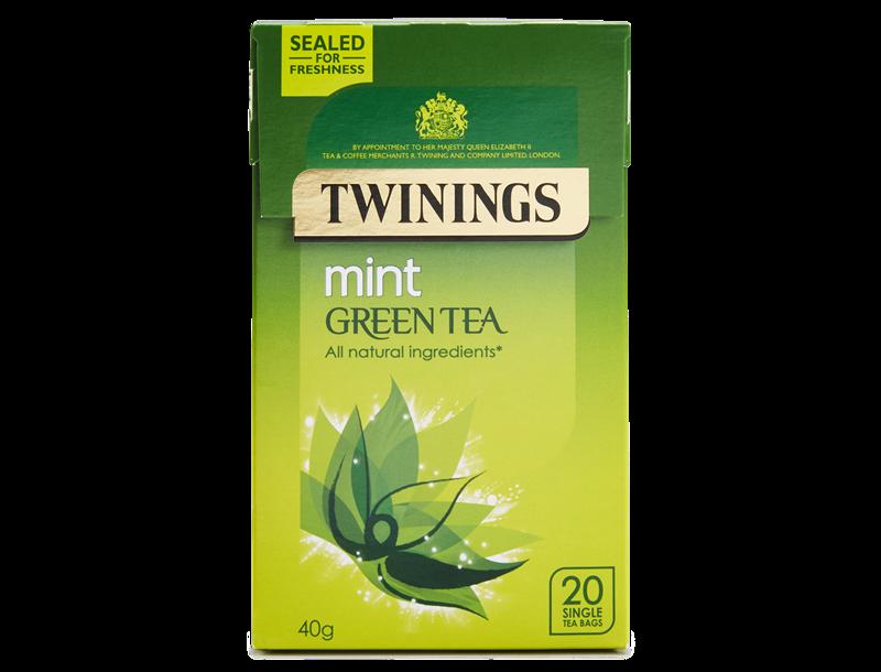 Twinings Pure Green Tea Mint 20s