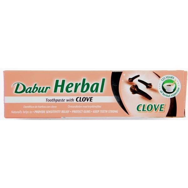 Dabur Herbal Toothpaste - Clove 100g