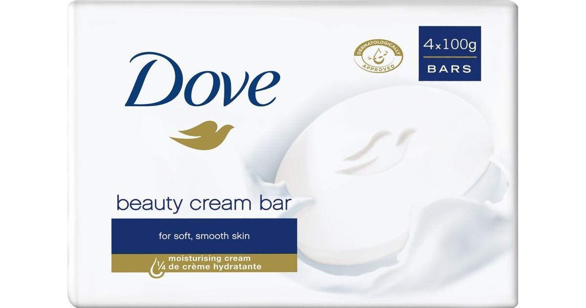 Dove Cream Soap Bar Pack of 4