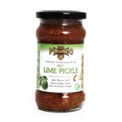 Fudco Hot Lime Pickle 300g