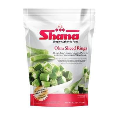 Shana Frozen Okra Cut 300g