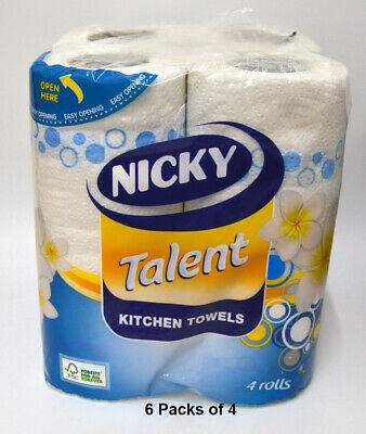 Nicky Talent Kitchen Towel Pack of 4
