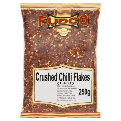 Fudco Chilli Flakes Crushed Hot 250g