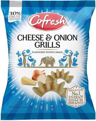 Cofresh Grills - Potato Cheese & Onion 50g