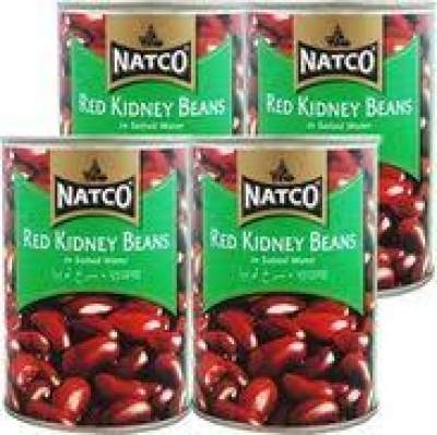 Natco Canned Red Kidney Beans 12x400g