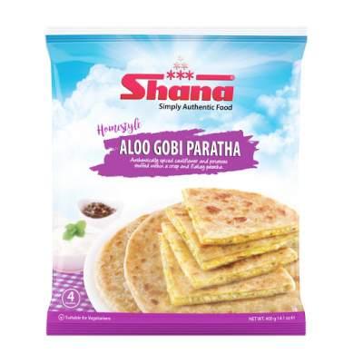Shana Stuffed Paratha Gobi Aloo 4 pcs
