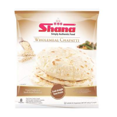 Shana Wholemeal Chappati 8's