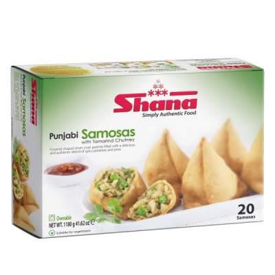 Shana 20 Punjabi Samosas