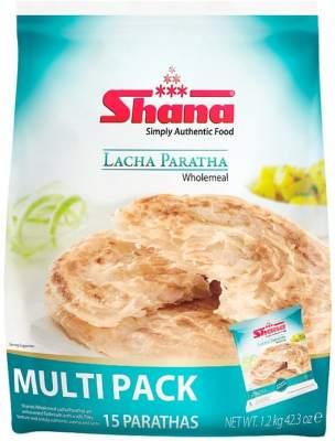 Shana Lacha Wholemeal Paratha Family Pack 1.2kg
