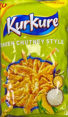 Kur Kure Green Chutney Style 50g