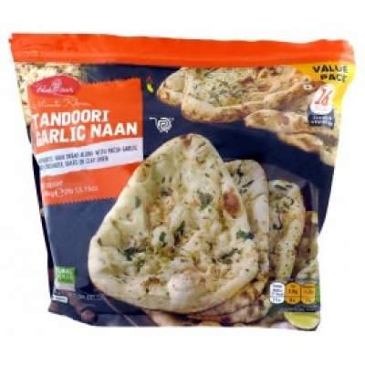 Haldiram's Tandoori Garlic Naan 16 pcs Family Pack