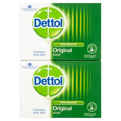 Dettol Anti-Bacterial Twin Soap Bar 2x100g