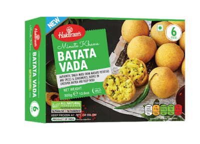 Haldiram's Batata Vada 300g