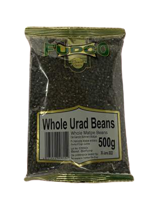 Fudco Whole Urad Beans 500g