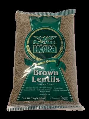 Heera Brown Lentils 2kg