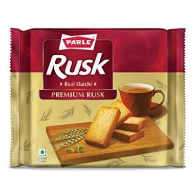 Parle Premium Elaichi Rusk 200g (Buy 2 Get 1 Free)