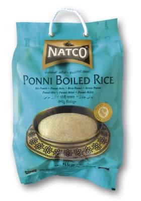 Natco Ponni Boiled Rice 5kg