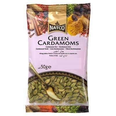Natco Green Cardamoms 50g