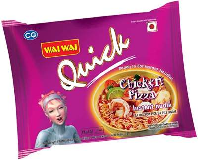 Wai Wai Chicken Pizza Instant Noodles 75g Pack of 5