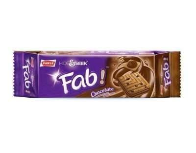 Parle Hide & Seek Fab Chocolate 112g