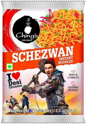 Ching's Schezwan Noodles 60g Pack of 5
