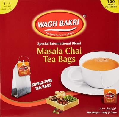 Wagh Bakri Masala Tea Bags (100)