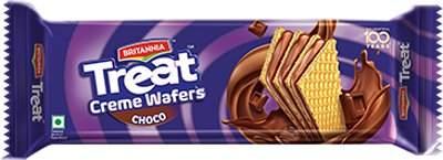 Britannia Treats Wafers Chocolate 150g