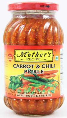 Mother's Carrot & Chilli Pickle 500g